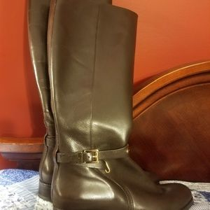 MICHAEL Michael Kors Shoes - MK Knee high leather riding books